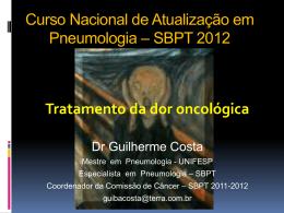 Tratamento da dor oncológica