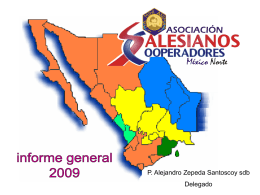 Informe General 2009 - Asociación de Salesianos Cooperadores