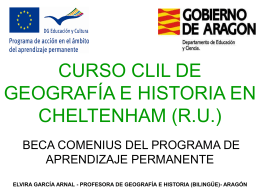 HISTORY & GEOGRAPHY CLIL COURSE IN CHELTENHAM (UK