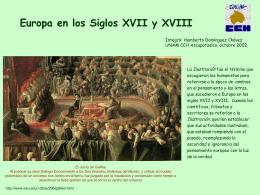 Europa en los Siglos XVII y XVIII - Portal Académico del CCH
