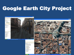 Google Earth City Directions Power Point