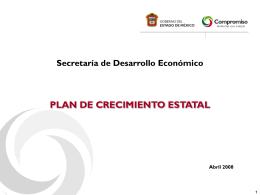 Plan de Crecimiento Estatal