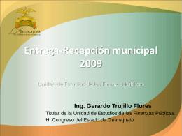 Entrega-Recepción municipal 2009