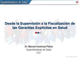 Conocimiento General - Superintendencia de Salud