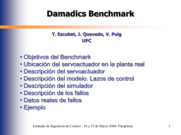 Damadics Benchmark