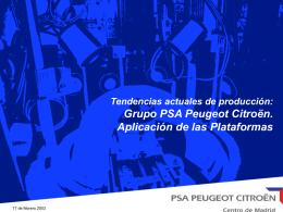 Presentación 5 concepto plataformas PSA