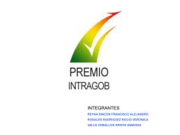 Modelo INTRAGOB 2da. parte