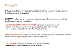 Encargo_03 - Plataforma Urbana