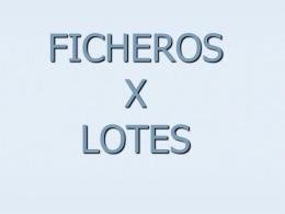 ficheros por lotes