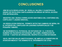 conclusioncartilago