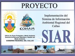 siar - Gobierno Regional del Callao