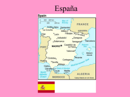 España - Teaching Ideas
