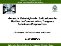 Diplomado - Comunicaciones Estratégicas en Mercadeo Social