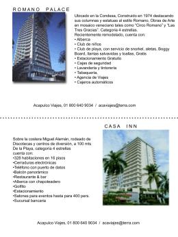 Diapositiva 1 - Acapulco Viajes