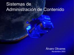 Sistemas de Administración de Contenido