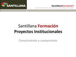 El Salvador - Formación Santillana