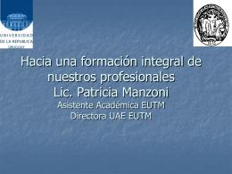 ponenciamanzoni - Registros Médicos
