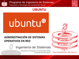UBUNTU-ASOR - Administracion de Sistemas Operativos de Red