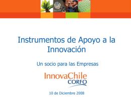 Aporte InnovaChile