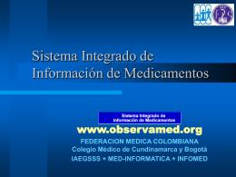 PresentacionFMC_SIIM_Cali03mar06 - Med