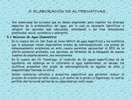 5. ELABORACIÓN DE ALTERNATIVAS