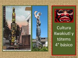 Cultura Kwakiut: los tótems 4° básico