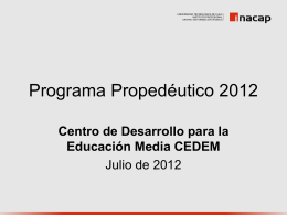 ppt_videoconferencia_propedeutico_julio__2012