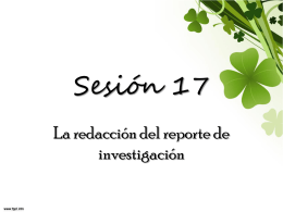 Sesión 17 - ana-upn