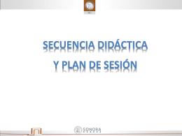 20.- sec. didactica y plan de sesión