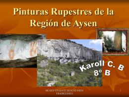 Pinturas Rupestres de la Región de Aysen