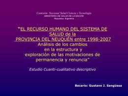 Avances obtenidos - Comisión Nacional Salud Investiga