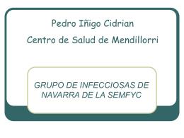 PEDRO IÑIGO CIDRIAN CENTRO DE SALUD DE