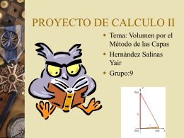 PROYECTO DE CALCULO II