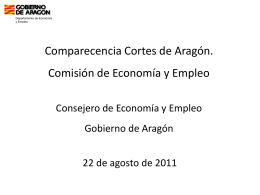 aragón plus - Cortes de Aragón