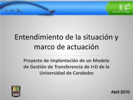 Diapositiva 1 - Universidad de Carabobo
