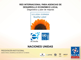red internacional para agencias de desarrollo
