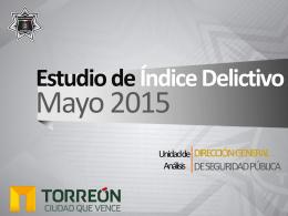 Mayo de 2015