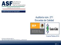 Diapositiva 1 - Auditoría Superior de la Federación