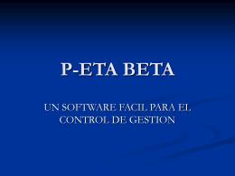 P-ETA BETA