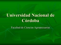 Fosfón D - Facultad de Ciencias Agropecuarias | UNC