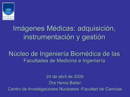 Radiacion Gamma - Núcleo de Ingeniería Biomédica
