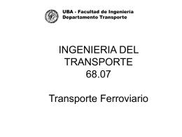 Notas Ferrocarriles