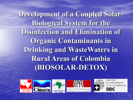 Development of a Coupled Solar-Biological System for the