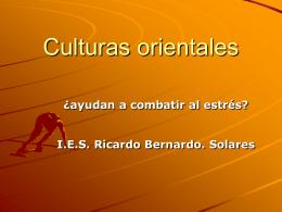 Culturas orientales