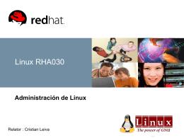 Semana 1 Presentacion de Curso Linux 1