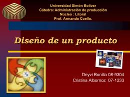 Diseño de un producto - ADM-DE-LA-PROD