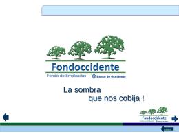 cooperación - Fondoccidente.