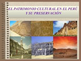 Instituciones que preservan el patrimonio