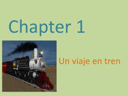 Chapter 1 - hcspanish