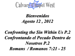 25 - Calvary Chapel West